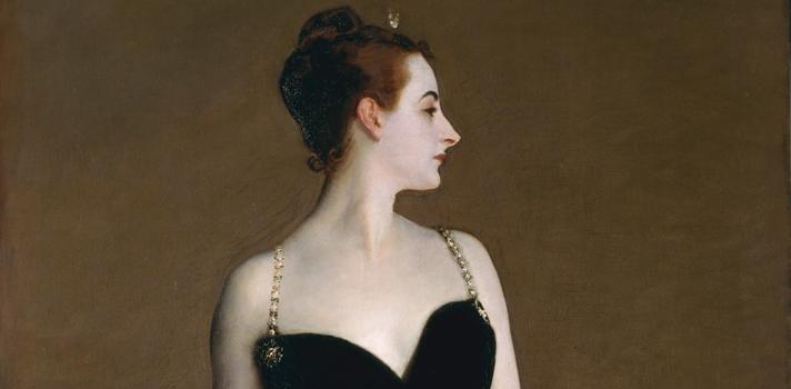 Arte do Dia: Retrato de Madame X de John Singer Sargent