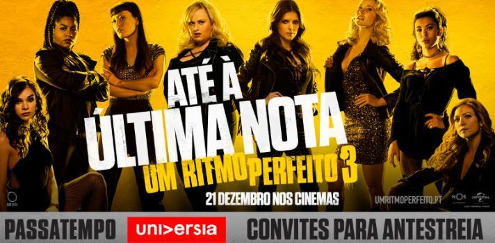 Passatempo Universia Um Ritmo Perfeito assista à antestreia em Braga, Lisboa e no Porto