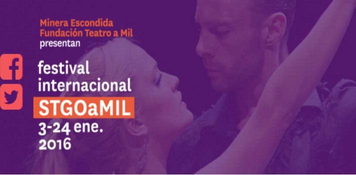 Santiago a Mil 2016 se prepara con más de 60 espectáculos