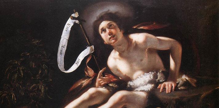 Arte do Dia: São João Batista de Bernardo Strozzi