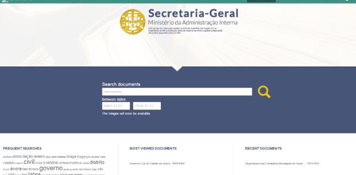 """<p>Os arquivos dos <strong>Governos Civis de Portugal</strong> estão a partir de agora disponíveis para acesso ao público em geral no endereço<a href=https://agc.sg.mai.gov.pt>https://agc.sg.mai.gov.pt</a>. Este projeto envolve a Secretaria-Geral do Ministério da Administração Interna (SGMAI) e a KEEP SOLUTIONS, spin-off da <a title=UMinho href=https://www.uminho.pt target=_blank>Universidade do Minho </a>responsável pelo software (Archeevo) que gere e disponibiliza os conteúdos.</p><p></p><p>Qualquer cidadão pode agora consultar nesta aplicação informática uma grande panóplia de dados, como <strong>passaportes, eleições, associações, licenças de porta aberta, alvarás de funcionamento e processos eleitorais</strong> desde o século XVI. A <strong>SGMAI</strong>, responsável pelo projeto, tem em curso o extenso trabalho de<strong> tratamento, digitalização e registo de toda a documentação</strong>. Neste momento estão já disponíveis para consulta cerca de 65 mil registos,que em breve terão também as imagens associadas.</p><p></p><p>Os <strong>Governos Civis</strong>, enquanto órgão representante do Governo em cada distrito, foram <strong>criados em 1835 e extintos em 2011</strong>, sendo as suas competências transferidas desde então para órgãos como os municípios, a PSP, a GNR e a Autoridade Nacional de Proteção Civil. O atual Governo entendeu dar a melhor atenção à memória histórica do património dos Governos Civis, pelo seu papel fundamental na vida social, política e económica das regiões. Este espólio é considerado """"uma fonte extraordinária para a reconstituição da história regional e nacional que importa salvaguardar e preservar"""".</p><p><strong>Modernização administrativa e eletrónica</strong></p><p><strong></strong>A<a title=SGMAI href=https://www.sg.mai.gov.pt/Paginas/default.aspx target=_blank>SGMAI</a> lançou para o efeito um concurso público internacional para o projeto """"Os Governos Civis de Portugal. História, Memória e Cidadania"""", tido como prioritário, de"""