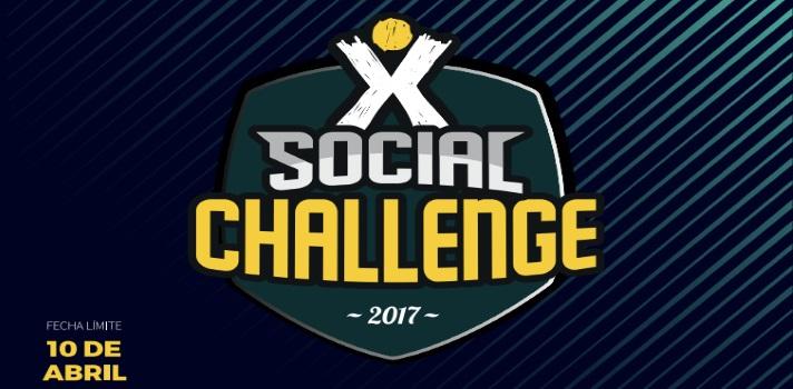 Aprende, crea contactos y ayuda en una acción solidaria participando del Social Challenge.