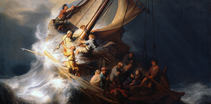Arte do Dia: Tempestade no Mar da Galileia de Rembrandt
