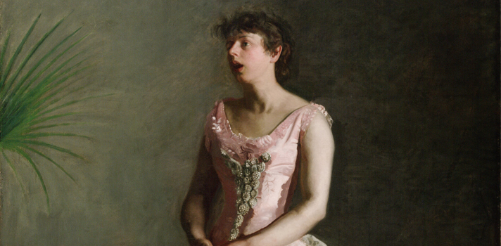 Arte do Dia: A Cantora do Concerto de Thomas Eakins