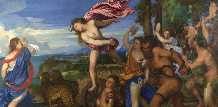Arte do Dia: Baco e Ariadne de Ticiano