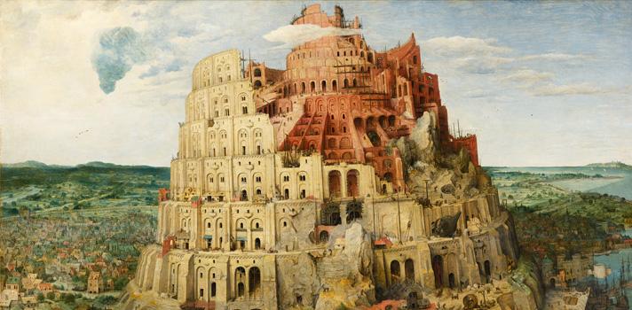 Arte do Dia: Torre de Babel de Pieter Bruegel, o Velho
