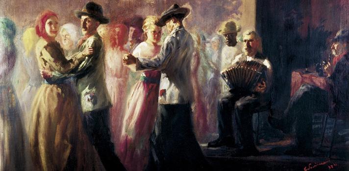 Arte do Dia: Baile na Roça de Cândido Portinari