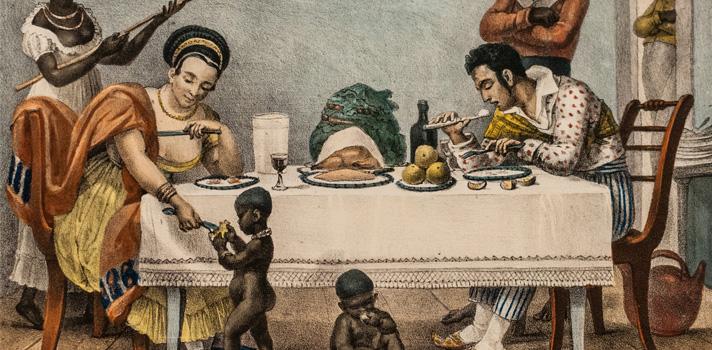 Arte do Dia: Uma Família Brasileira de Jean Baptiste