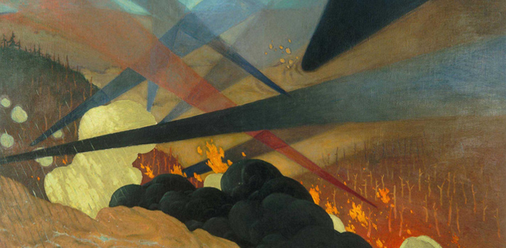 Arte do Dia: Verdun de Felix Vallotton