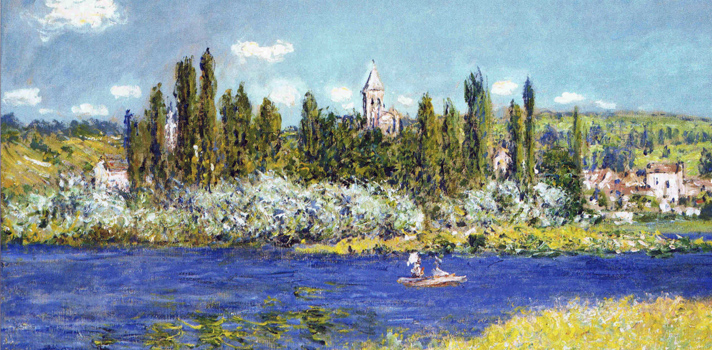 Arte do Dia: Vetheuil de Claude Monet