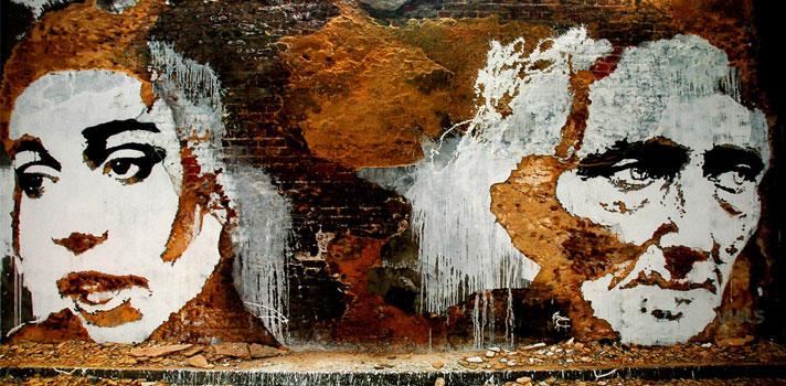 Arte do Dia: 4 obras do Vhils no Brasil [+ entrevista]