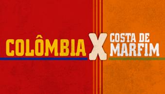 Infografia: Descubra curiosidades de Colômbia x Costa de Marfim