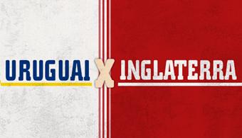 Infografia: Descubra curiosidades de Uruguai X Inglaterra