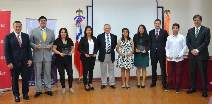 Cinco alumnos y un académico de la UTA reciben la beca de movilidad internacional Santander Iberoamérica