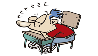 Dormir é mais importante que estudar, diz estudo