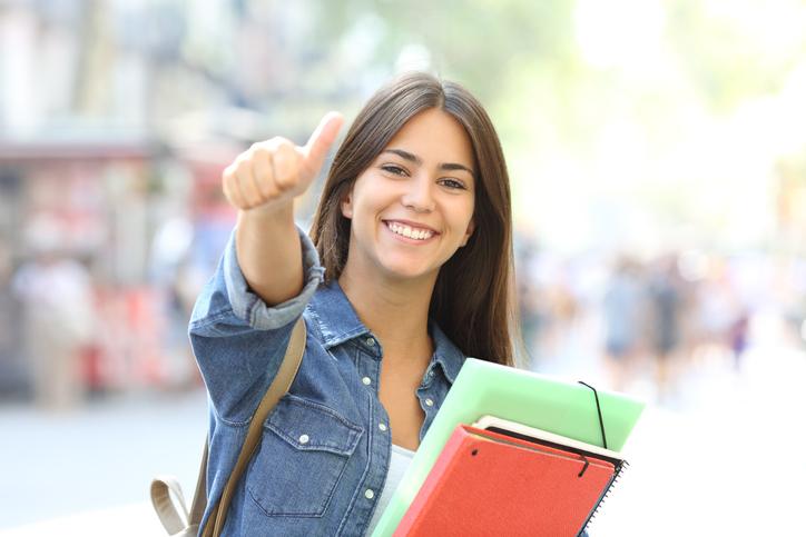 A primeira matrícula é também o momento de começar a conhecer a Instituição em que irão estudar.