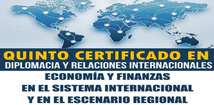 Realiza el 5º Certificado en Diplomacia y Relaciones Internacionales del CEAPRC