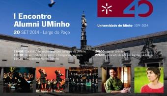 Quatrocentos antigos alunos da UMinho juntam-se este sábado na Reitoria