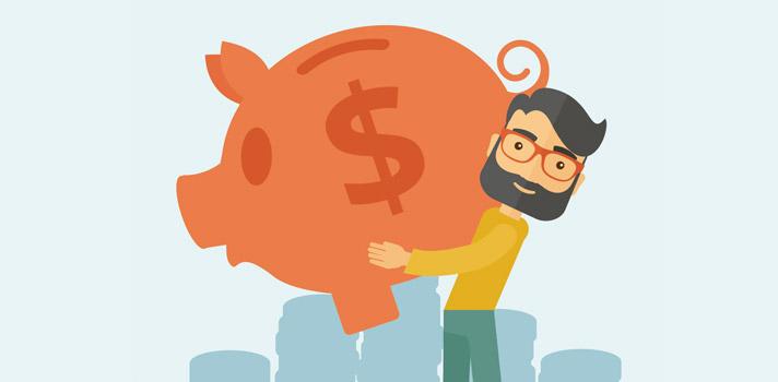 La forma más sencilla de iniciar una inversión es el efecto bola de nieve, que propone el ahorro de pequeñas cantidades para convertirlas en un importante impulso económico.