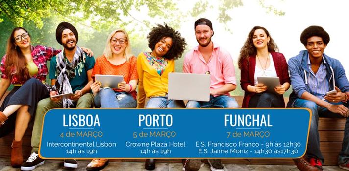 4ª edição da STUDY ABROAD Portugal regressa a Lisboa, Porto e Funchal