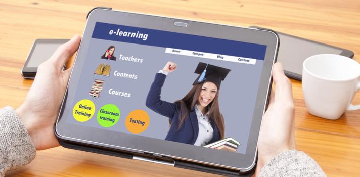 Cursos online ligados com computadores e aprendizagem do inglês são muito procurados