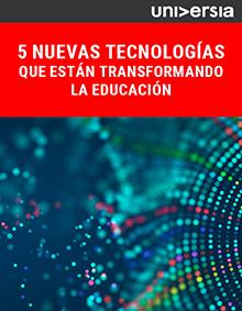 EBook: 5 nuevas tecnologías que están transformando la educación