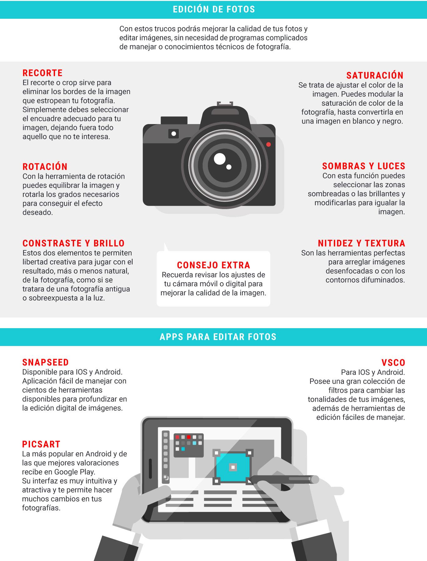6 trucos para editar una imagen de manera profesional