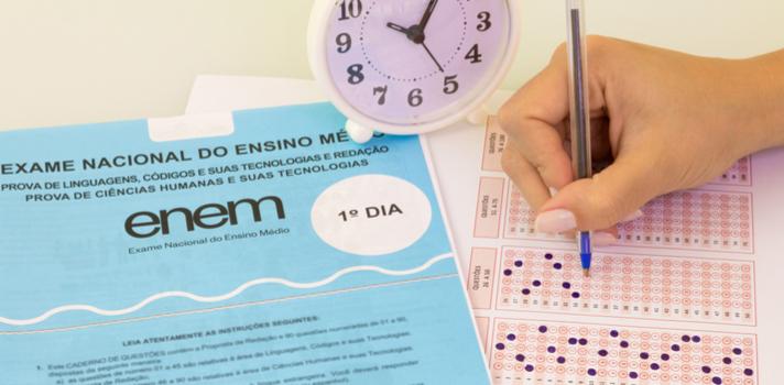 Se o aluno copiar, sua redação do Enem não será desclassificada