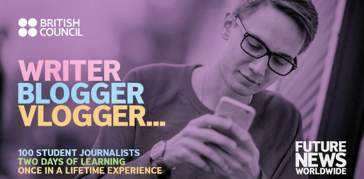 El programa Future News Worldwide juntará cientos de jóvenes apasionados del periodismo y la comunicación