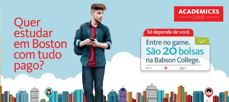Santander Universidades lança game que oferece bolsas na Babson College