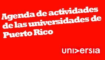 """<p><a href=https://estudios.universia.net/puerto-rico/institucion/universidad-puerto-rico-recinto-rio-piedras><strong>Universidad de Puerto Rico en Río Piedras</strong></a></p><p></p><p><span style=text-decoration: underline;><em>Momentos musicales… en la universidad, Sensibilizando a través de la Música</em></span></p><p>La Banda Sinfónica, el Conjunto Criollo, el Taller de Jazz, la Orquesta de Cámara, el Conjunto de Metales, el Coro de Campanas, el Taller de Percusión, Collegium Musicum, el Conjunto de Flauta y el Conjunto de Guitarra Clásica, son algunas de las bandas que deleitarán al público con lo mejor de su repertorio.</p><p>Fecha: 30 de abril a las 7:00 p.m.</p><p>Lugar: Teatro de la UPR.</p><p></p><p><span style=text-decoration: underline;><em>Crónicas del Fuego, Energía, Ambiente, y Sociedad</em></span></p><p>Conferencias, documentales, paneles y actividades culturales y musicales.</p><p>Fecha: 30 de abril de 8:30 a.m. a 11:00 p.m</p><p><em></em></p><p><span style=text-decoration: underline;><em>Recolecta de artículos para animales</em></span></p><p>Fecha: 22 de abril al 4 de mayo</p><p>Lugar: Segundo piso del edificio Carlota Matienzo</p><p><em></em></p><p><span style=text-decoration: underline;><em>Feria de Salud</em></span></p><p>Fecha: Miércoles 30 de abril de 9:00 a.m. a 1:00 p.m.</p><p>Lugar: Centro de Estudiantes</p><p><em></em></p><p><span style=text-decoration: underline;><em>Presentación del libro: """"Casa Márquez: Historia de una familia en Puerto Rico""""</em></span></p><p>Fecha: 1 de mayo a las 7:00 pm</p><p>Lugar: Casa de España en el viejo San Juan.</p><p></p><p><a href=https://estudios.universia.net/puerto-rico/institucion/universidad-del-sagrado-corazon><strong>Universidad del Sagrado Corazón</strong></a></p><p></p><p><em>Sor Isolina Ferré: una mirada interdisciplinaria a su vida y obra</em></p><p>Jornada sobre la trayectoria y legado de esta religiosa puertorriqueña conocida por su importante labor comunitaria,</p><p>Fecha: 29 de abril entre """