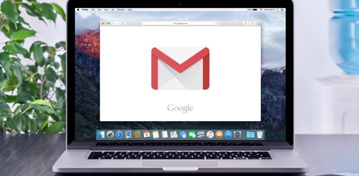 O gmail permite uma organização eficaz através de etiquetas e categorias