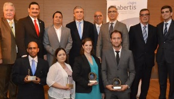 Graduados de la UPR son los ganadores del Primer Certamen de la Cátedra Abertis en Puerto Rico