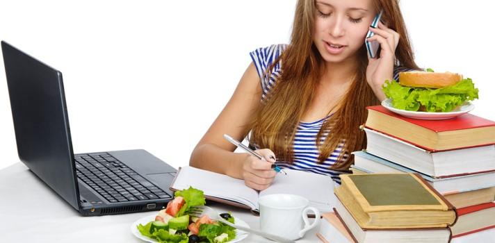 ¿Qué debo comer después de estudiar?