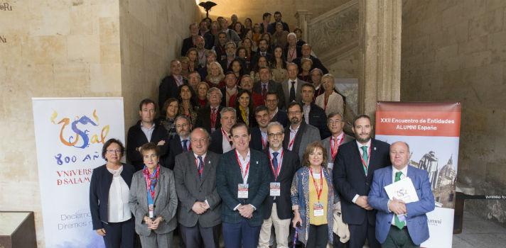 Alumni España celebra con éxito su asamblea general y su XXII Encuentro de Entidades Alumni de las Universidades Españolas en Salamanca
