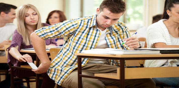 7 de cada 10 alumnos admiten haber copiado, al menos, una vez durante su carrera universitaria.