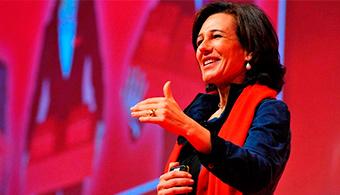 Ana Botín é nomeada por unanimidade presidente do Banco Santander