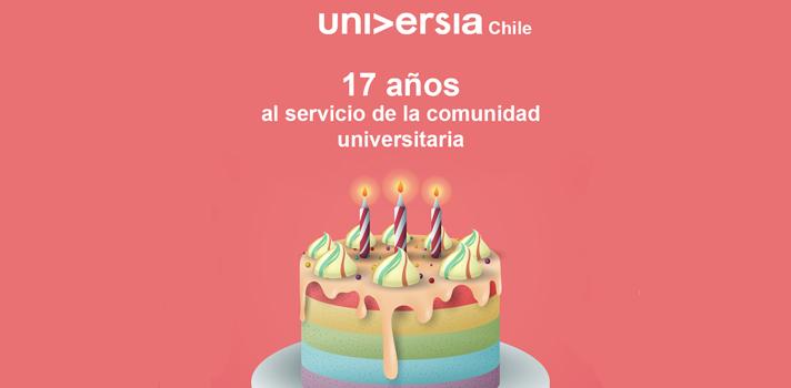 """El 16 de marzo de 2001 nació la red de universidades más grande del país con el principal objetivo de posicionarse como un punto de encuentro para las instituciones de educación superior y con ello fortalecer la comunicación entre los distintos entes de la educación. <br/><br/>En la actualidad, Universia cuenta con 1.341 universidades socias en 20 países Iberoamericanos, en Chile, 60 instituciones participan de la red. <br/><br/>José Pedro Fuenzalida, director general de Universia Chile, celebró los logros de la organización a través de los años y reconoció el apoyo de las universidades socias. """"Universia se ha consolidado como un punto de encuentro para las instituciones de educación superior tanto a nivel local como iberoamericano, pasando de ser una red de portales de universidades a una red de oportunidades, tanto en el ámbito académico como institucional"""". Destaca que el principal objetivo es seguir siendo un punto de encuentro de las universidades socias a través del desarrollo de proyectos que se enmarquen en las líneas estratégicas, que corresponden a desarrollo tecnológico, formación académica y empleo. <br/><br/>Este año, Universia organizará el séptimo Encuentro de Postgrado, Curso de Inserción Laboral, Encuentro de Comunicaciones de Universidades Chilenas, ensayos presenciales, diarios PSU, diferentes encuentros de directivos de las universidades sociasy nuevas iniciativas en el marco de la orientación universitaria.<br/><br/>El 21 y 22 de mayo se realizará en Salamanca, España, el<a href=https://universiasalamanca2018.com/ target=_blank>IV Encuentro de Rectores Universia 2018</a><span>bajo los auspicios de Santander Universidades y de Universia, y pondrá el foco en tres ejes estratégicos presididos por dos principios de actuación, el compromiso con el futuro y el servicio a la sociedad.</span>"""