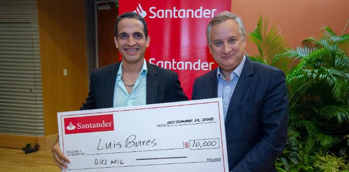 Anuncian ganadores de la V edición del Premio Santander a la Innovación Empresarial