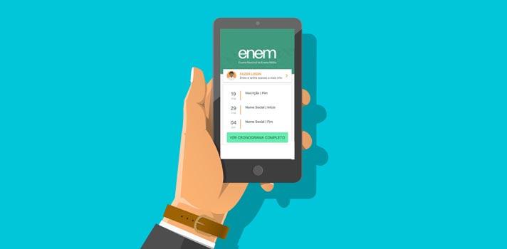 Aplicativo do Enem 2017 já está disponível para usuários