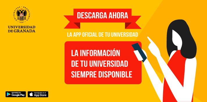 La Universidad de Granada lanza su APP oficial