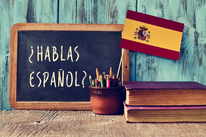 Espanhol é o segundo idioma mais falado no mundo.