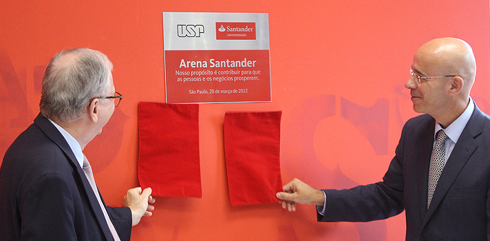 Arena Santander é inaugurada na USP