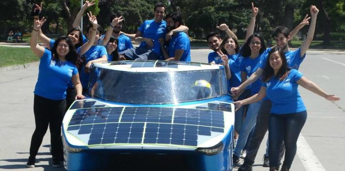 Auto solar, Eolian Fénix, recorrerá más de 2000 km desde Santiago a Arica en un nuevo desafío