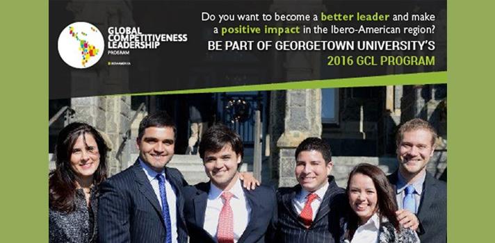 La Universidad de Georgetown busca jóvenes líderes de Latinoamérica