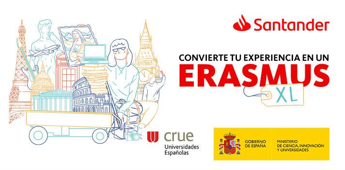 Si quieres irte de Erasmus el próximo año y tienes un expediente académico excelente, las Becas Santander Erasmus son para ti