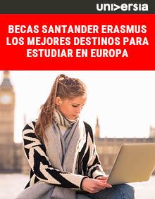 Becas Santander Erasmus_Los mejores destinos para estudiar en Europa