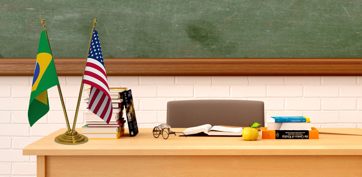 Programa dá bolsas para brasileiros ensinarem português nos EUA