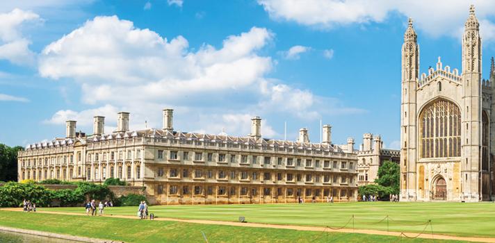 Universidade de Cambridge dá bolsas de estudo de até 14.300 libras