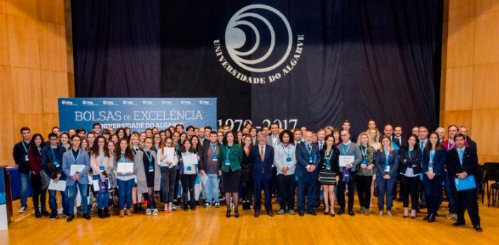 Mais de 235 mil euros em Bolsas de Excelência para alunos da UAlg
